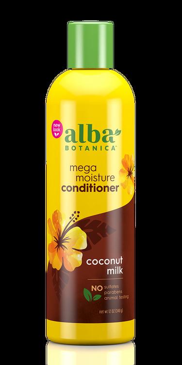 Alba Botanica Mega Moisture Conditioner, Coconut Milk