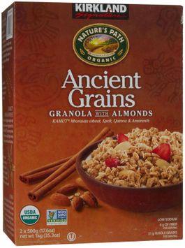 Kirkland Signature Kirkland Organic Ancient Grains Granola
