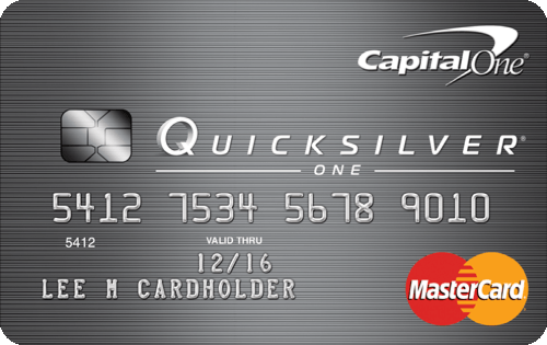 The Capital One QuicksilverOne Cash Rewards Credit Card is both a secured credit card and a rewards card