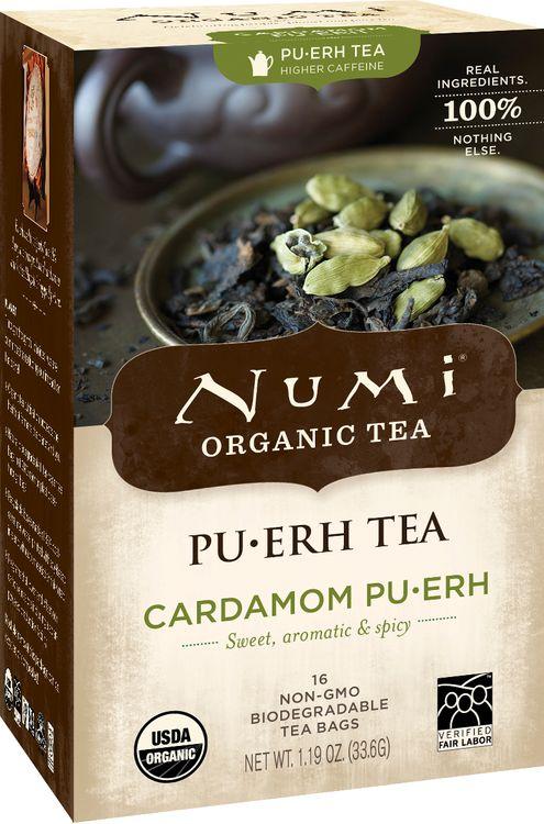 Numi Organic Tea Cardamom Pu-erh