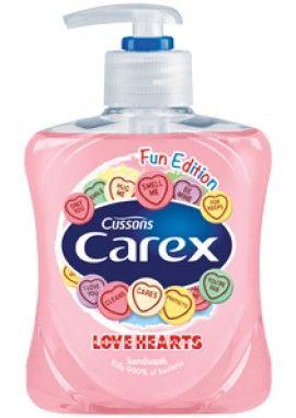 Carex Fun Edition Love Hearts Hand Wash