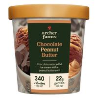 archer farms Chocolate Peanut Butter Ice Cream