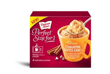 Duncan Hines Perfect Size For 1 Cinnamon Coffee Cake