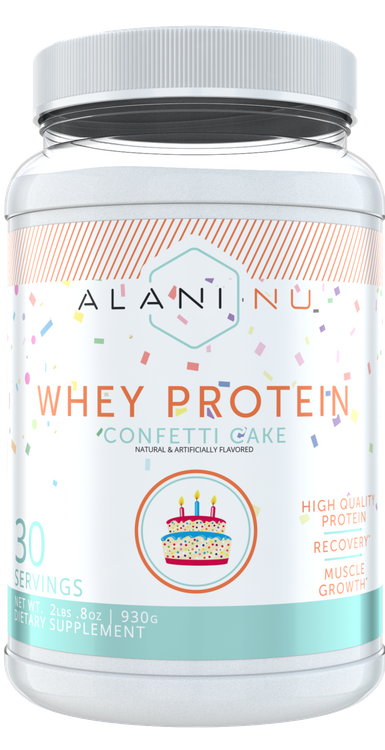 ALANI NU Whey Protein Confetti Cake