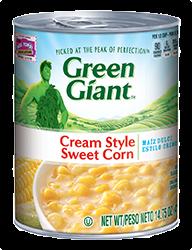 Green Giant® Cream Style Sweet Corn Can