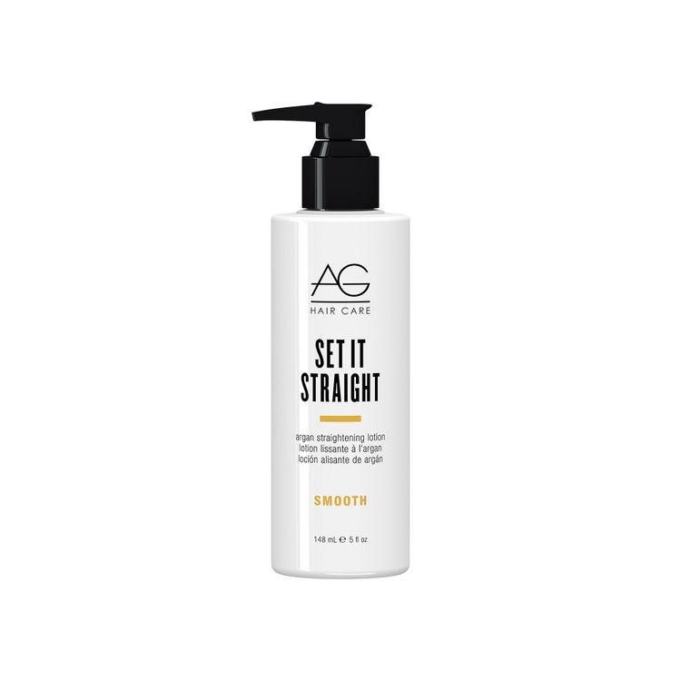 Ag Hair Smooth Set It Straight Argan Straightening Lotion