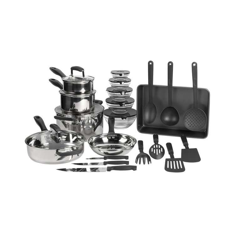 Philippe Richard 25-pc. Stainless Steel Cookware Set