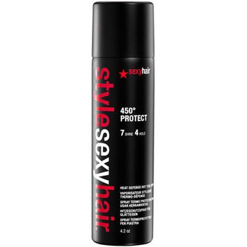Sexy Hair Concepts: Style Sexy Hair 450 Protect Heat Defense Hot Tool Spray 4.2oz
