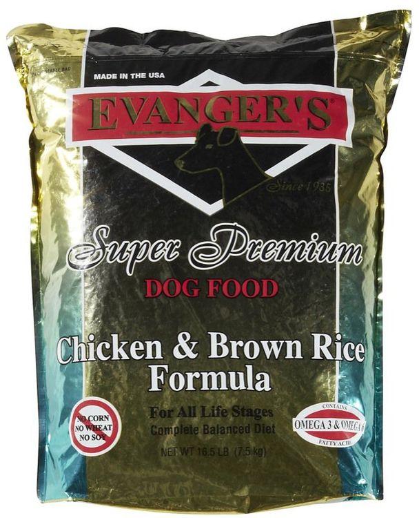 Evangers Chicken Adult Dry Dog Food 16.5lb