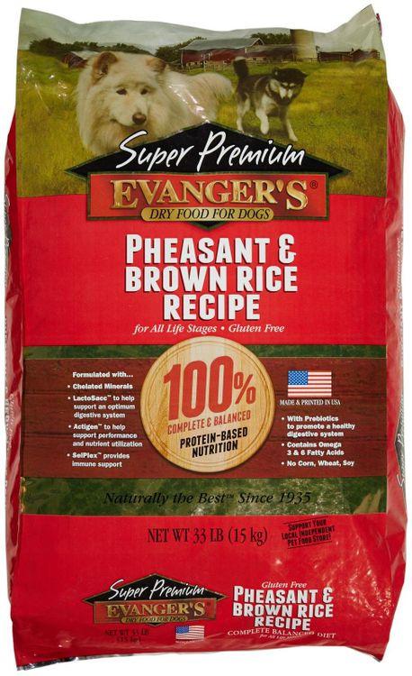 Evangers Pheasant Adult Dry Dog Food 33lb