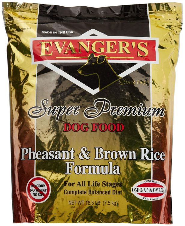 Evangers Pheasant Adult Dry Dog Food 16.5lb