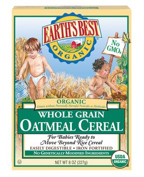 Earth's Best Organic® Whole Grain Oatmeal Cereal