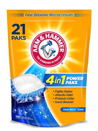 ARM & HAMMER 4-IN-1 Power Paks