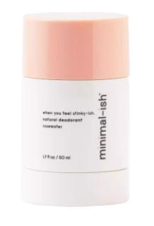 Minimal-ish Natural Deodorant