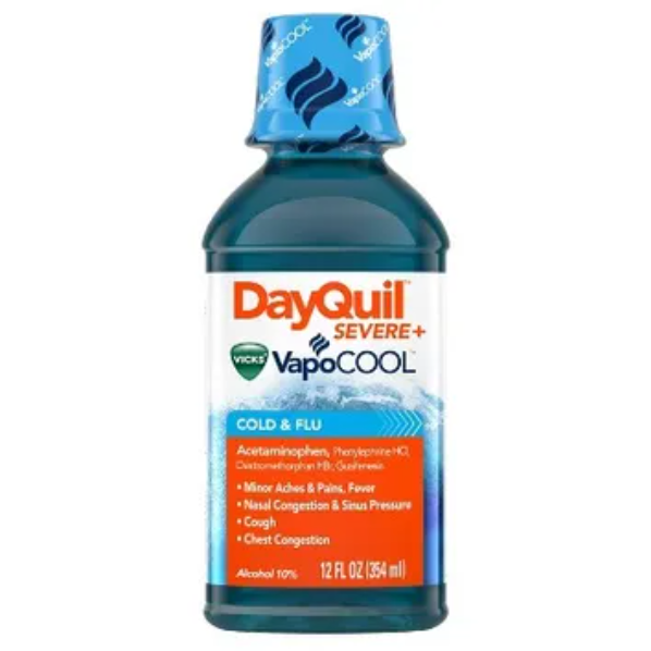 Vicks® DayQuil™ Severe VapoCOOL Cold & Flu Relief Liquid