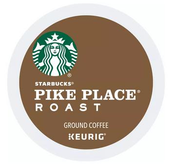 Keurig® Starbucks® Pike Place Roast Coffee K-Cup Pod