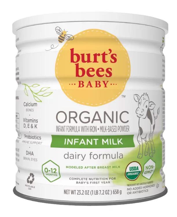Burt's Bees Organic Baby Formula, Infant Formula - 23.3oz