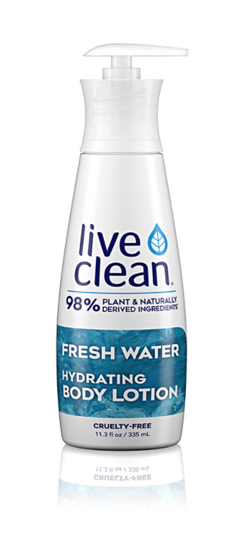 Live Clean Fresh Water Hydrating Lotion