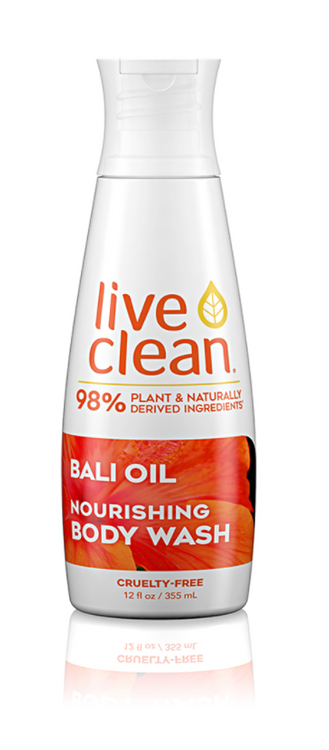 Live Clean Bali Oil Body Wash