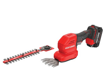Craftsman V20* 8 IN. Cordless 2-In-1 Hedge Trimmer And 4 IN. Grass Shear Kit
