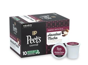Peet's Hazelnut Mocha K-Cup Pods