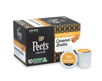 Peet's Caramel Brulee K-Cup Pods