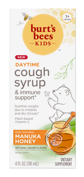 Burt's Bees Kids Daytime Cough Syrup