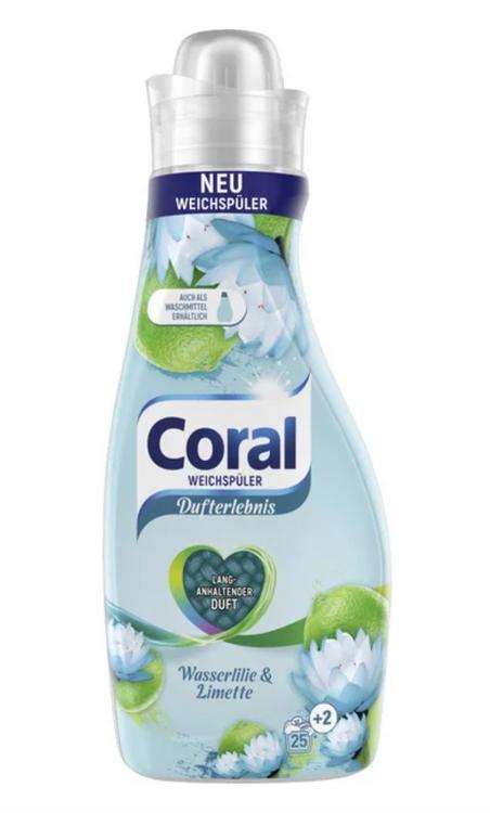 Coral Weichspüler Standard Orig. Wasserlilie & Limette Flüss