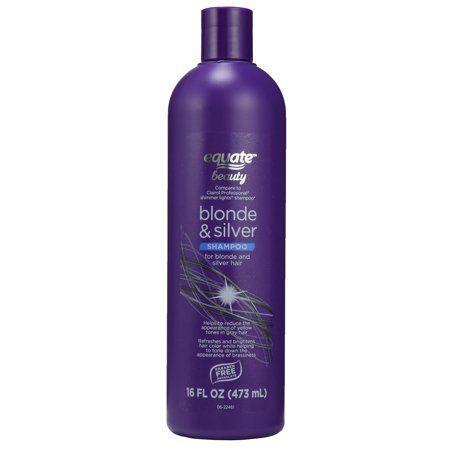 Equate Beauty Blonde & Silver Shampoo