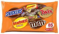 Mars Fun Size Candy Variety Bag - 43 oz - 80 ct
