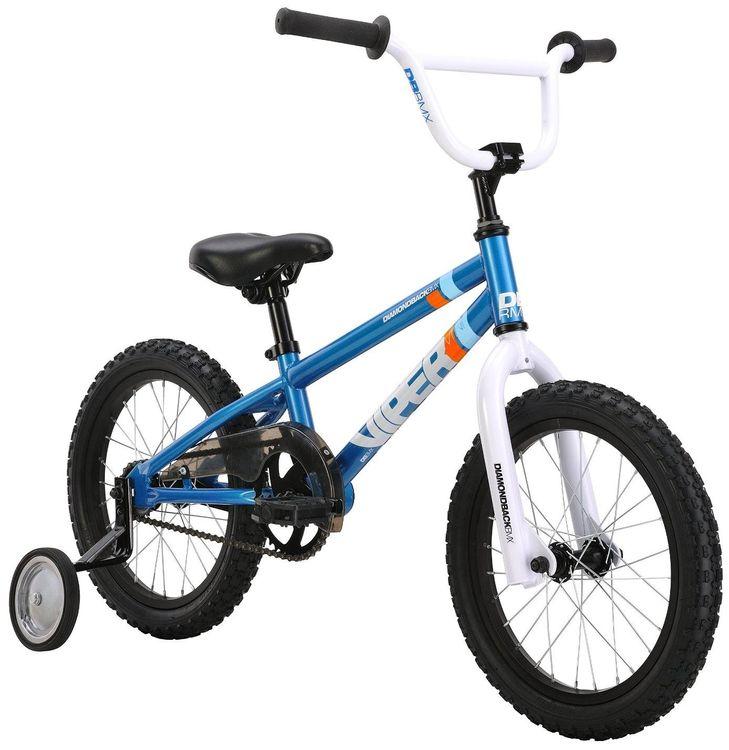 Diamondback Bicycles Mini Viper Kid's BMX Bike, Blue - 16