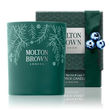 Slide: Molton Brown Fabled Juniper Berries & Lapp Pine Single Wick Candle