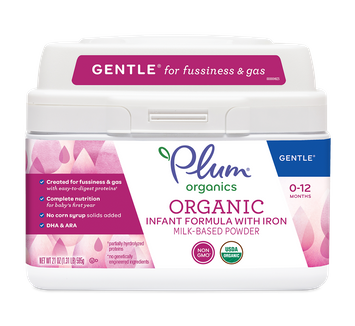 Plum Organics Gentle® Infant Formula