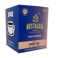 Memory Lane Coffee in a Brew Bag (Pack of 10)