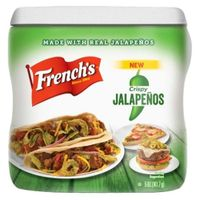 French's Crunchy Toppers Crispy Jalapeños