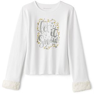 American Girl Let It Snow Winter Top for Girls