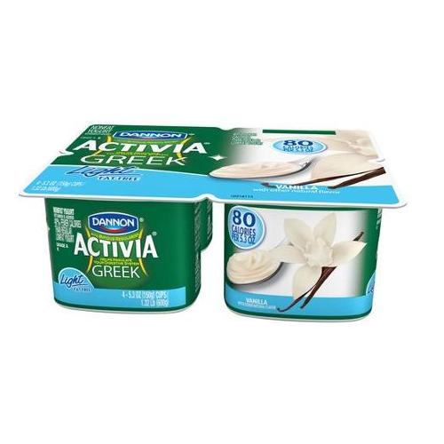 Activia® Greek Light Yogurt Vanilla