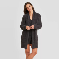 Stars Above™ Women's Cozy Plush Sleep Cardigan