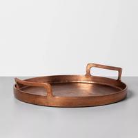 Antique Copper Finish Decor Tray - Hearth & Hand™ with Magnolia