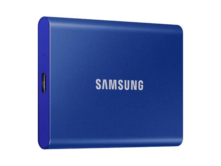 Samsung Portable SSD T7 USB 3.2 2TB (Blue)