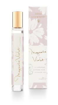 Good Chemistry Magnolia Violet Rollerball Perfume with Essential Oil