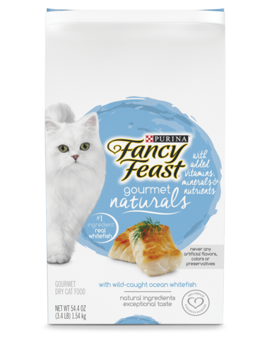 Fancy Feast® Gourmet Naturals with Wild-Caught Ocean Whitefish