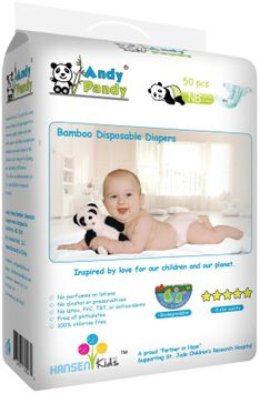 Andy Pandy Baby Diapers - 50 ct.