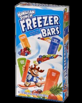 Hawaiian Punch Freezer Bar Fruit Juicy Red