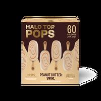 Halo Top Pops Peanut Butter Swirl