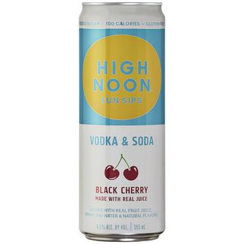 HIGH NOON Black Cherry Hard Seltzer