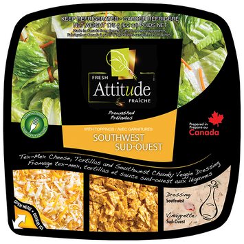 Fresh Attitude Prewashed Salad Southwest Kit