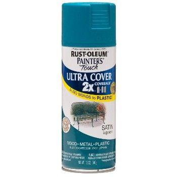 RustOleum 257461 Painter's Touch 2X Ultra, Lagoon Satin