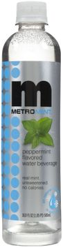 Metromint Peppermint Water, 500 ml, 12 ct