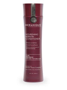 Keranique® Curl Preserve | Nourishing Keratin Conditioner for Curly, Textured Hair